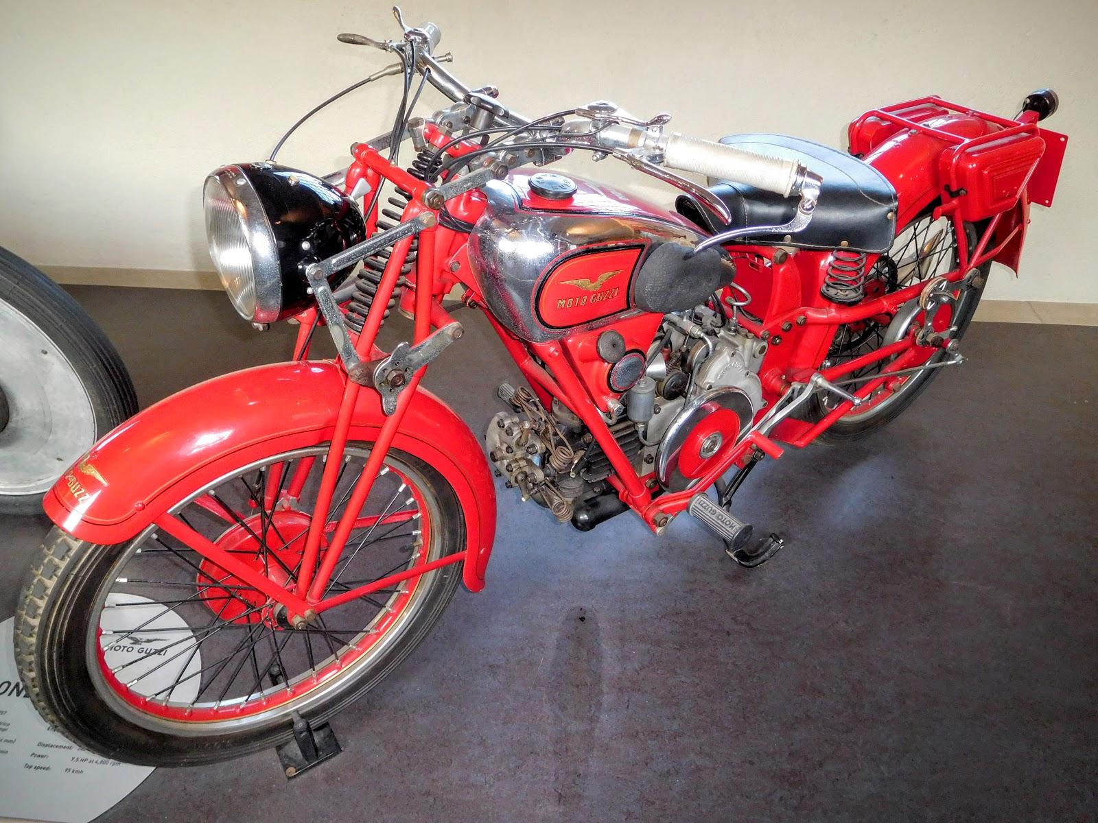 1937-57 Moto Guzzi Airone 250