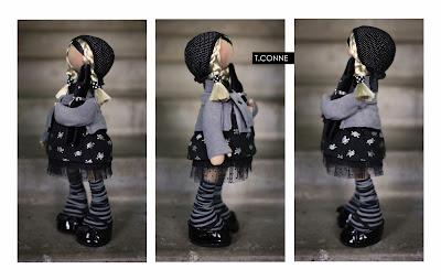 Авторская кукла Татьяны Коннэ: Pirate фото.
