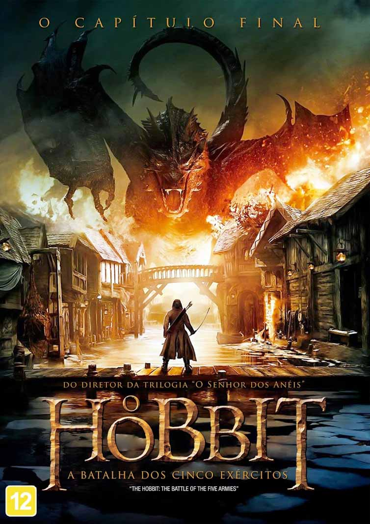 O Hobbit: A Batalha dos Cinco Exércitos Torrent - Blu-ray Rip 1080p 3D Dual Áudio (2015)