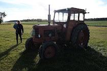 Öns gamla traktor