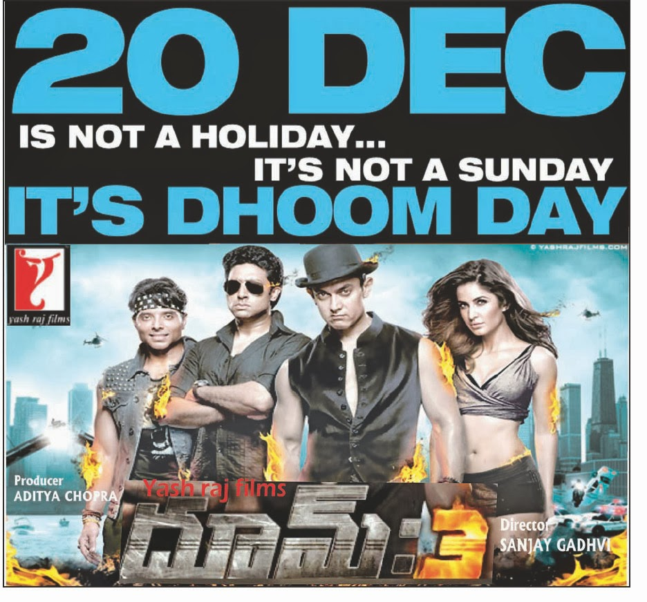 Dhoom 4 release date in Sydney