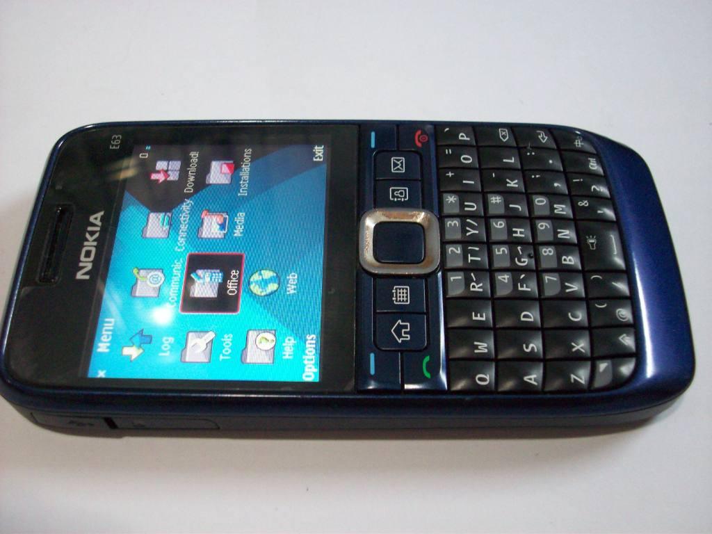 Nokia E63 Blue Nokia E63 Blue