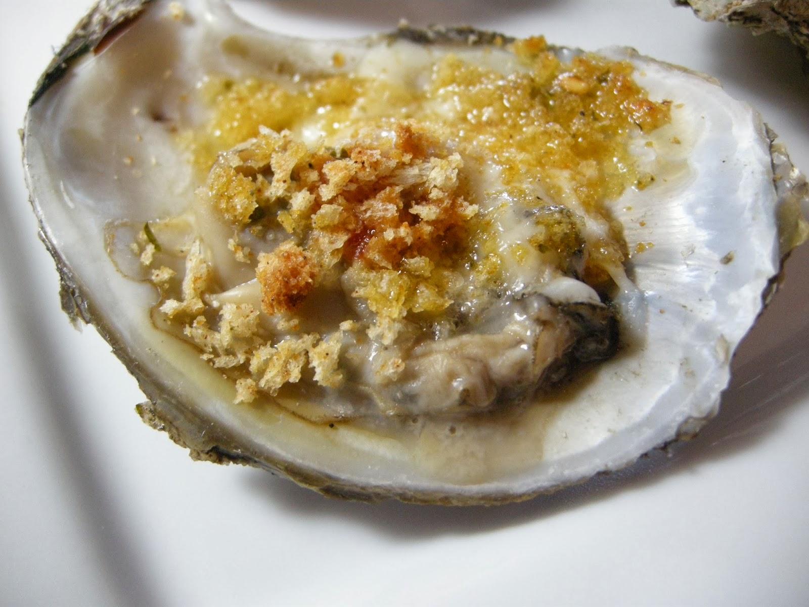 oysters.   three ways.