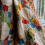 American Jane Snowball Nine Patch Quilt