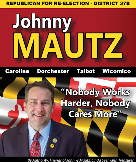 Vote Johnny Mautz District 37B