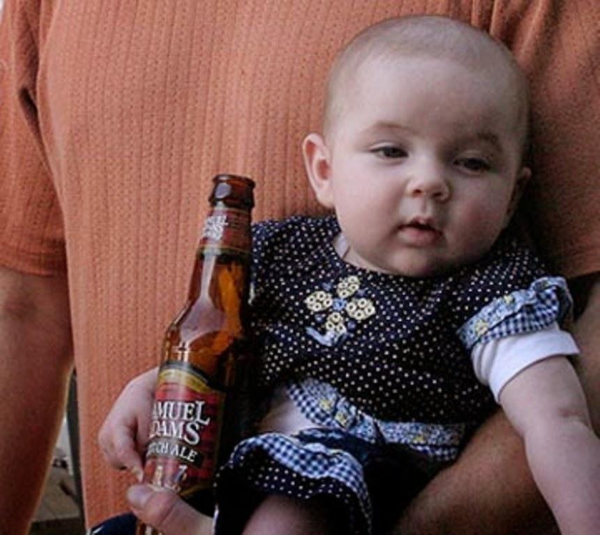 Foto bayi lucu lagi mabuk editan terbaru