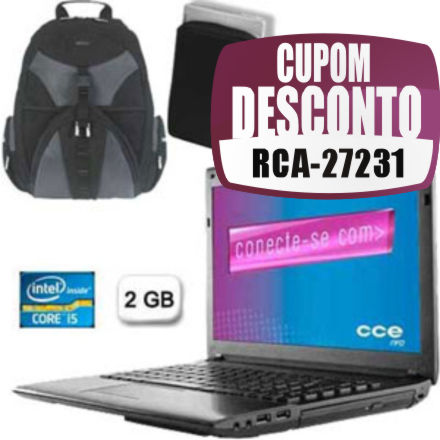 Cupom Efácil - Notebook Onix 525LE+ Intel Core I5 CCE