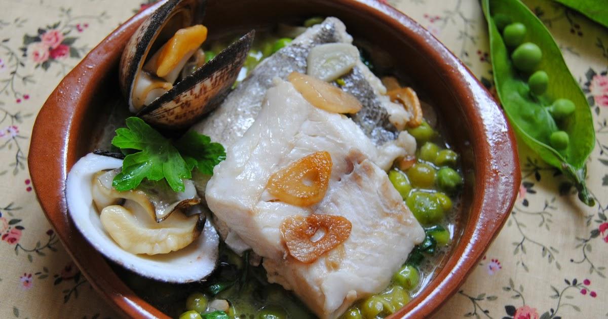 G teaux en espagne recette espagnole colin en sauce verte - Cuisiner du colin surgele ...