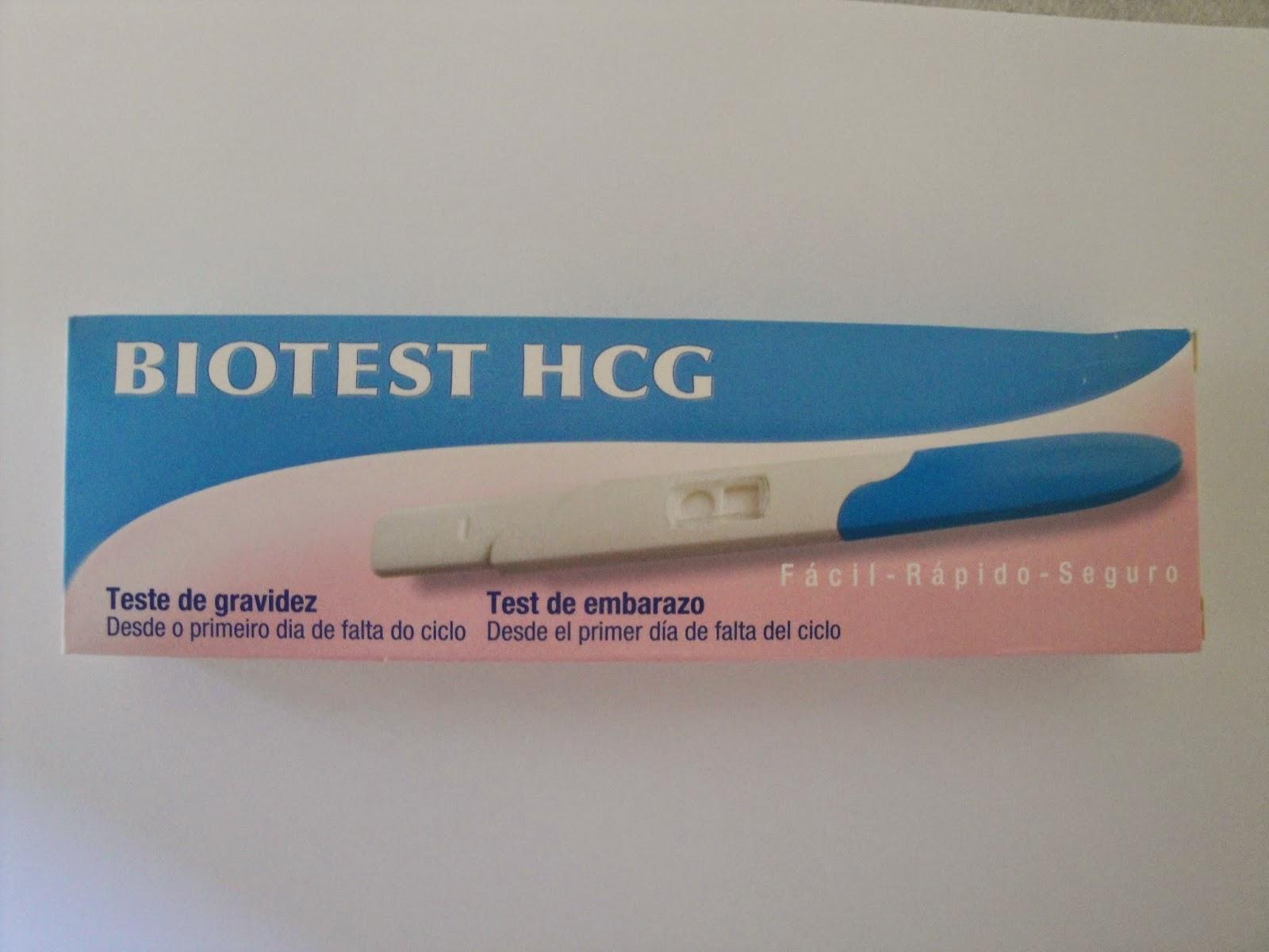 Teste de gravidez urina