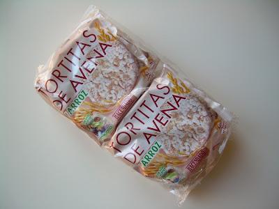 Tortitas de avena y arroz Hacendado de Mercadona.