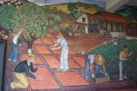 Another section of the mural 'California Agriculture'