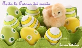 Torta nido per pasqua - Uova decorate per bambini ...