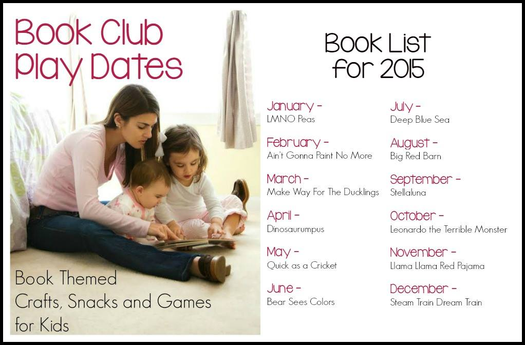 Book Club Play Dates series lineup for 2015 at And Next Comes L
