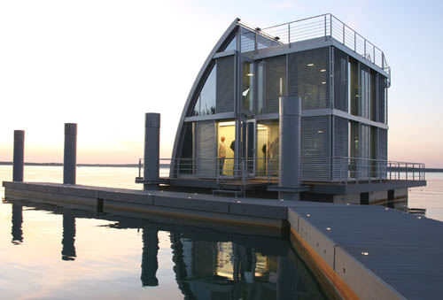 Modern Floating House Design