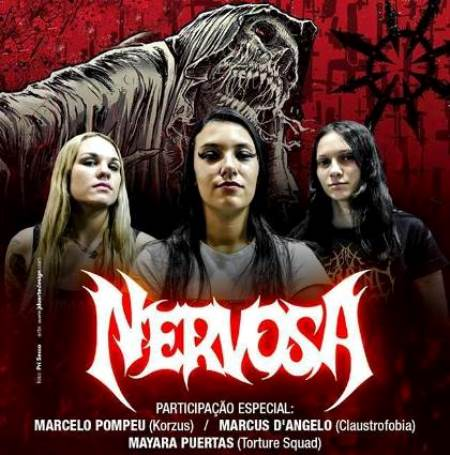 Nervosa ao vivo (2017)