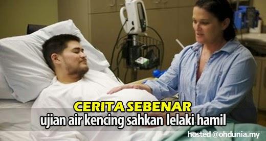 Ujian Air Kencing Sahkan Lelaki Hamil, Tapi Ada Cerita Sebenarnya..
