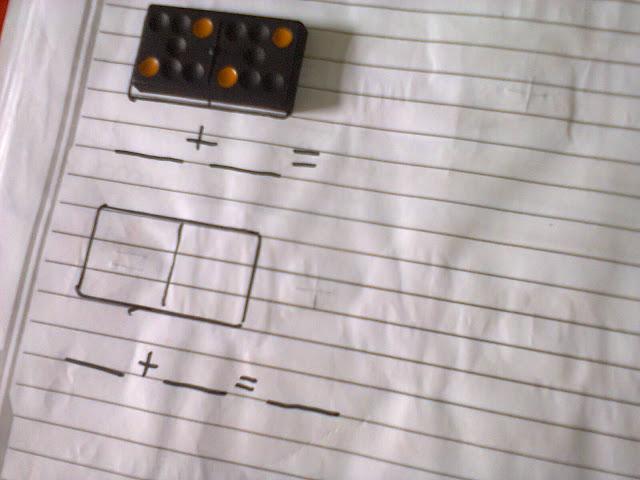 soma com dominó