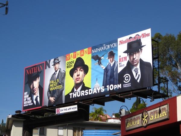 Nathan For You season 3 Blacklist spoof billboard