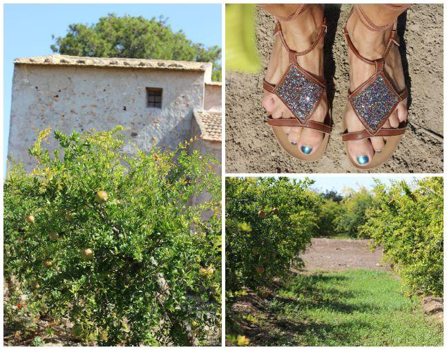 Hombros al aire- streetstyle - mini vaquera - calzados sandra - romanas - Campdelx - Granados