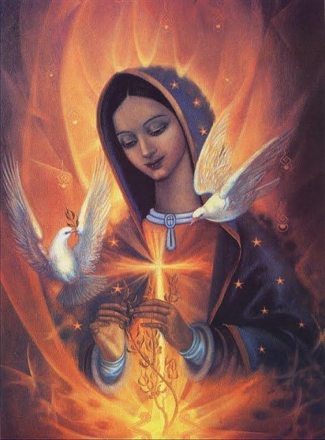 grande Virgen pequeña cerca de Getafe