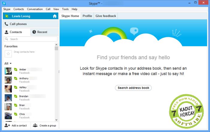 Download Skype 6.16.73.105 Terbaru