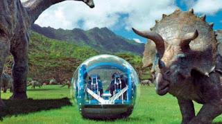 Jurasscic World gyro sphere