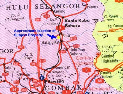 Batang Kali terletak di daerah Hulu Selangor.