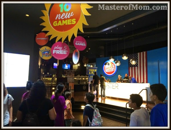 Dave and Buster's Entrance Area, Dolphin Mall, Miami