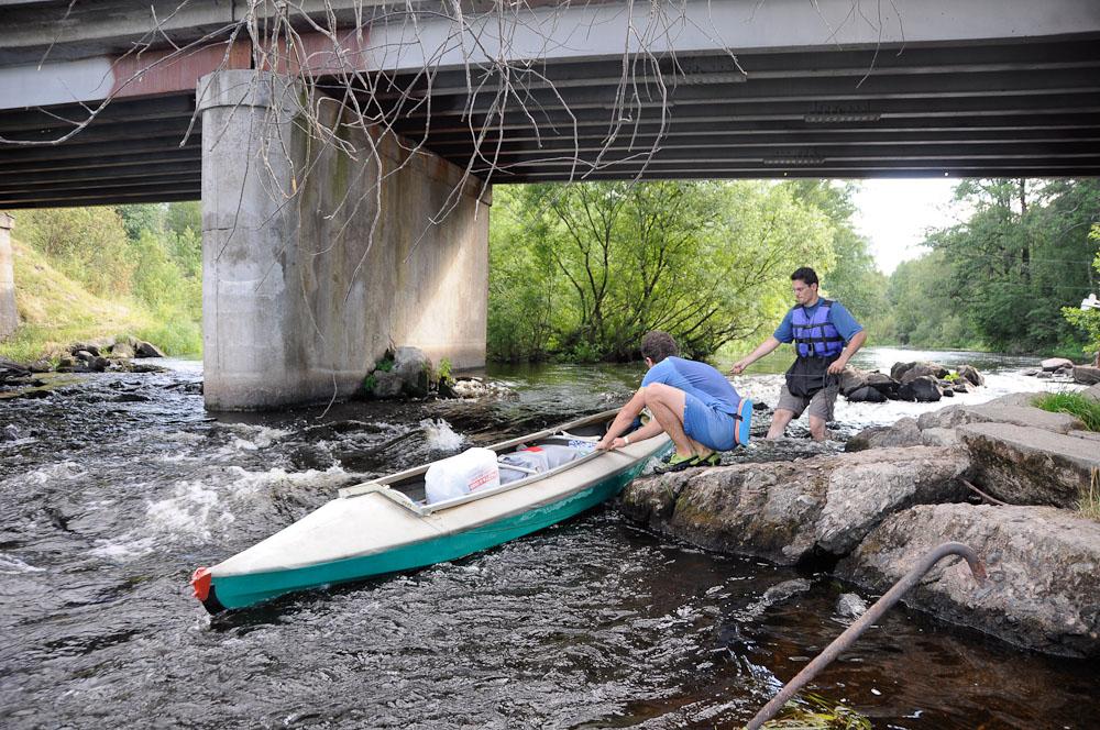 Отчет о водном походе по Ладоге