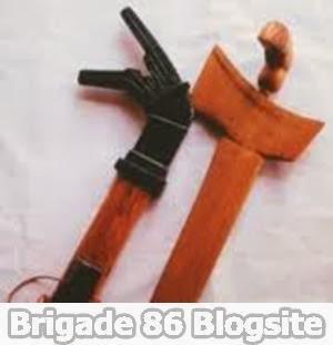 Senjata Tradisional Provinsi Sulawesi Tengah / Sulteng : Pasatimpo
