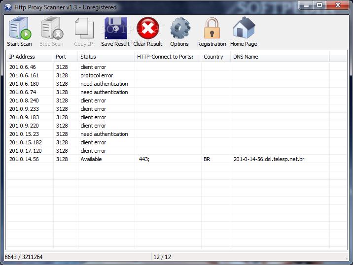 free proxy scanner