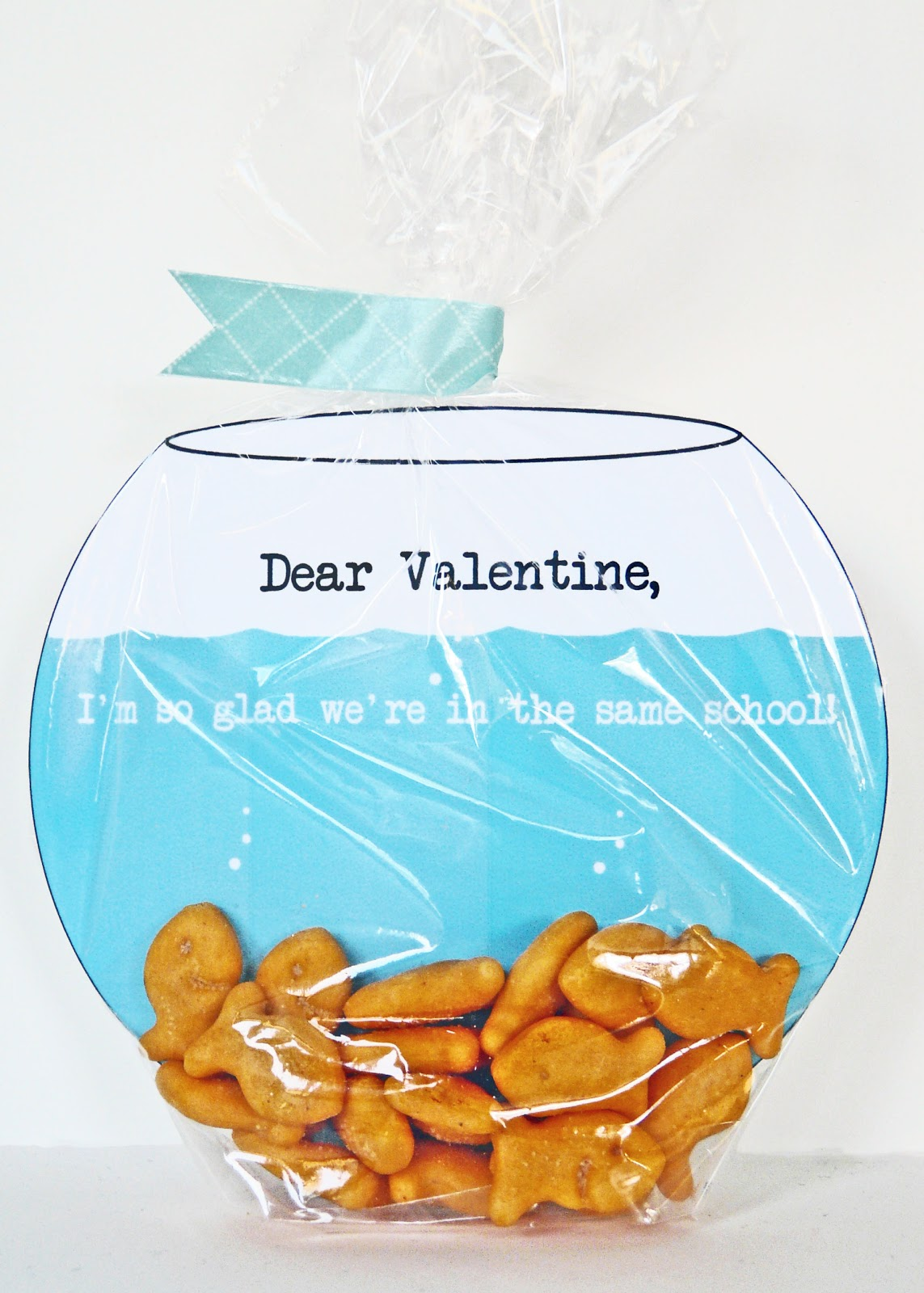 Make fish bowl valentine 39 s card for How to make a fish bowl