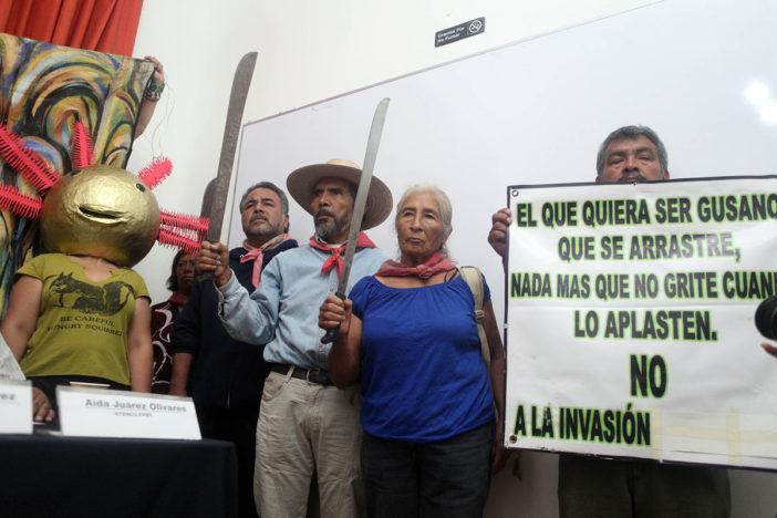 Opositores al NAICM en Atenco denuncian nueva agresión a balazos