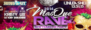 Gulf Shores Alabama, New Year's Eve Masquerade Party at The Hangout