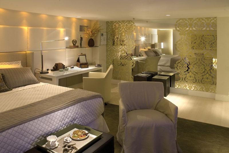 decoracao laca branca : decoracao laca branca:Projeto de quarto de casal todo clarinho branco + bege, com