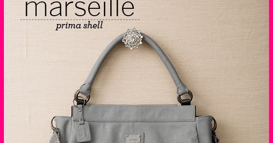 get ur bag on miche luxe collection light grey marseille prima shell. Black Bedroom Furniture Sets. Home Design Ideas