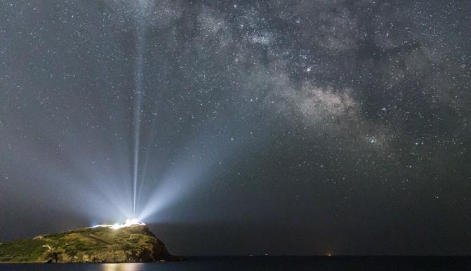 Milky Way over Cape Sounio and the Temple of Poseidon - Source: http://apod.nasa.gov/apod/ap150608.html