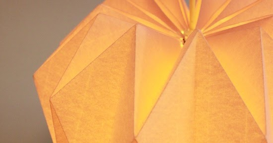 Diy Une Lampe Origami Initiales Gg
