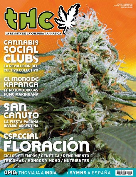 Revista THC 8 - La Revista de la Cultura Cannábica