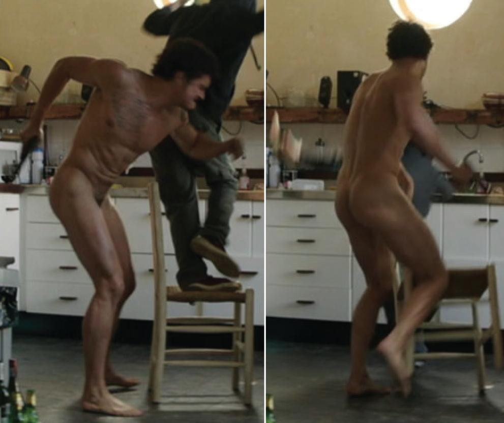 Orlando Bloom's bootyful butt