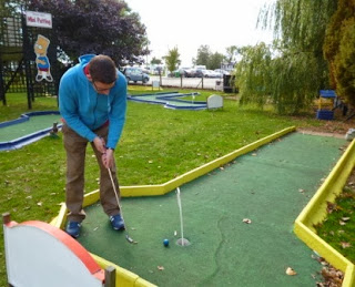 Crazy Golf at Stonham Barns in Suffolk