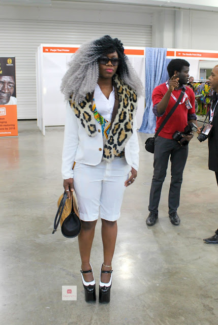 AFRICAN STREETSTYLE LOOKS AT AFRICA FASHION WEEK LONDON 2015