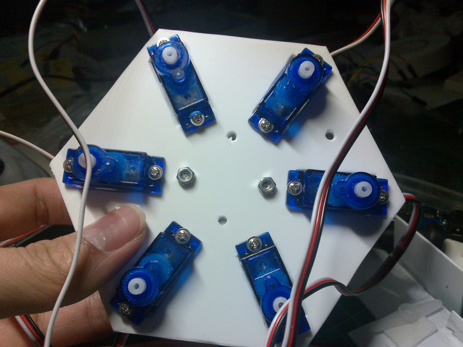 Arduino electronics and programming hexapod robot with