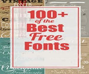 100 Top Fonts