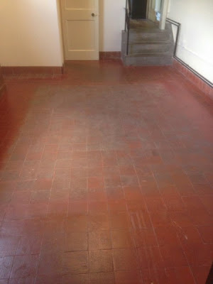 cleaning quarry tile