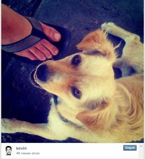 Primeira foto postada no Instagram