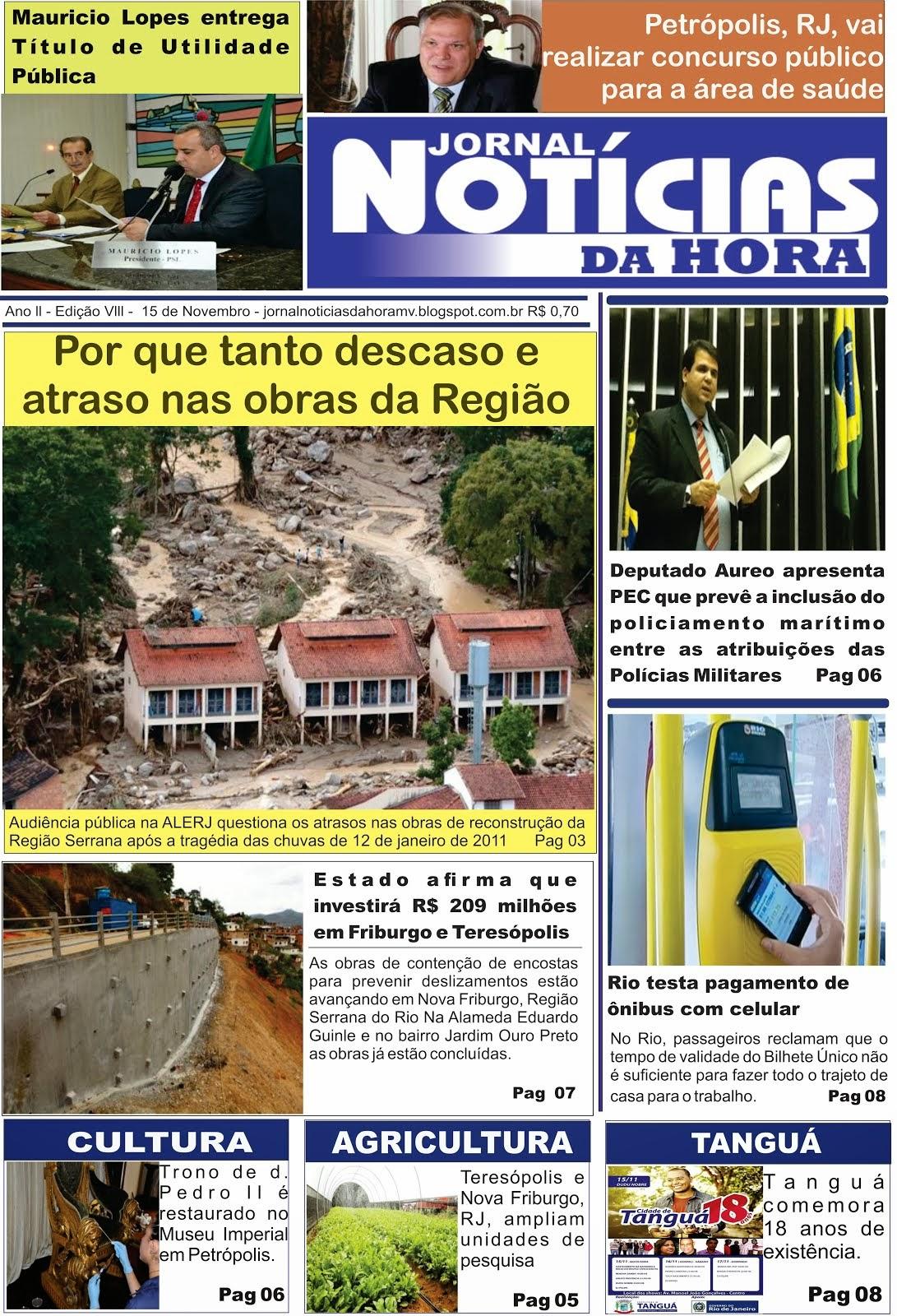 O JORNAL MAIS LIDO DA REGIÃO SERRANA