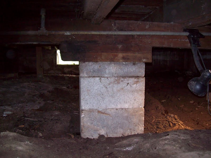 Swett lodge roll with it for Crawl space slab
