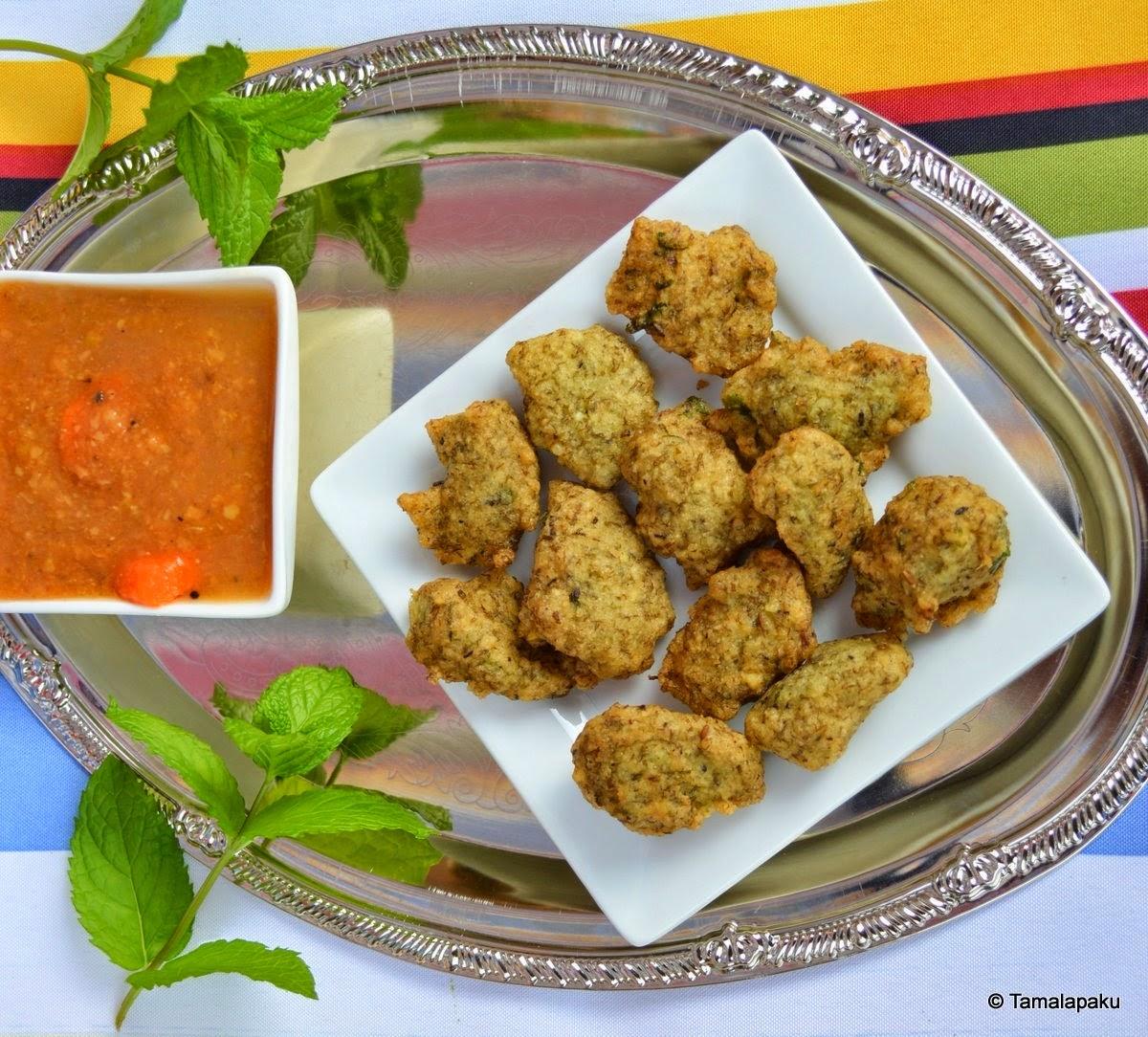 Pesara Punugulu ~ Moong Dal Fritters