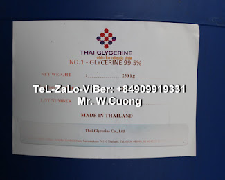 GLYCEROL | glycerine | tiêu chuẩn USP | 99.7%